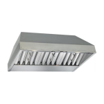 Best By Broan Ventilation Hood Insert - Stainless Steel CP45I362SB
