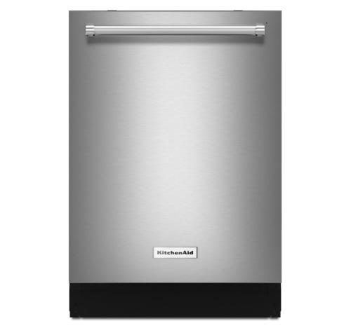 KitchenAid® 44 dBA Dishwasher with Dynamic Wash Arms - Stainless Steel