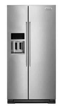 KitchenAid Counter Depth Side-by-Side Refrigerator with Exterior Ice and Water