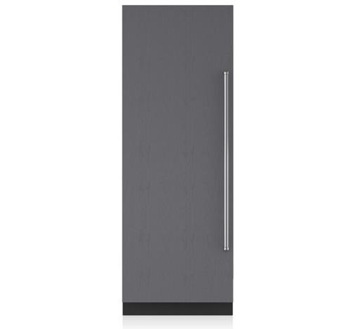 "Sub-Zero 30"" Integrated Column All Freezer w/ Ice Maker"