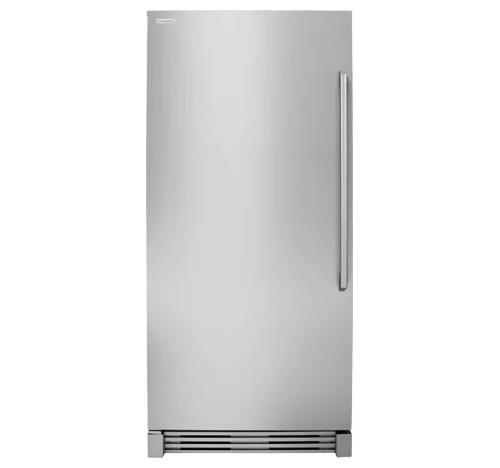 "Electrolux 32"" 19CF  Upright Freezer, Counter Depth W/Glass Shelves and LED Lighting EI32AF80QS"