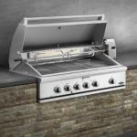 "DCS 48"" Traditional Grill w/ Rotisserie, Griddle & Hybrid IR Burner"