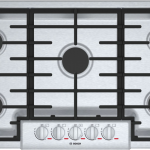 "Benchmark® 36"" 5 Burner Gas Cooktop - Stainless Steel"