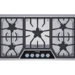 "Thermador Cooktop 36"" Masterpiece Dlx Series, 5 Burner - Stainless Steel"